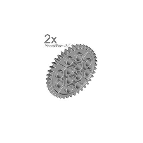 LEGO Technic - 2 graue Zahnräder Zahnrad 40 Zähne Technik