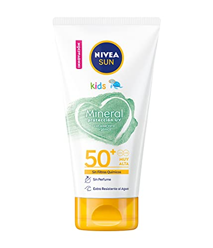 NIVEA SUN Crema Solar Niños Mineral FP...