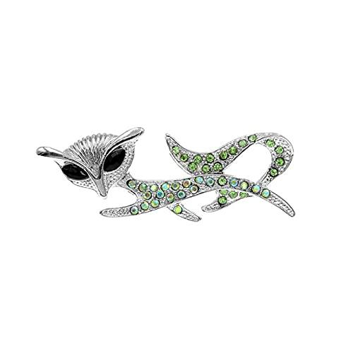 DFHTR Broche De Gato con Diamantes De Imitación, Broches De Gatito para Mujer, Joyería De Animales, Accesorios De Moda, Insignias para Niños, 3 Colores A Elegir