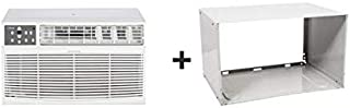 Koldfront WTC10001WSLV 10000 BTU 208/230V Through The Wall Air Conditioner with 10600 BTU Heater with Remote and Sleeve