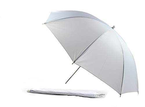 SHIJING Hanmi 83 cm 33 Pulgadas Estudio fotográfico portátil Video Reflective Reflight Light Photo Umbrella Reflector Fotografía Umbrella White Flash