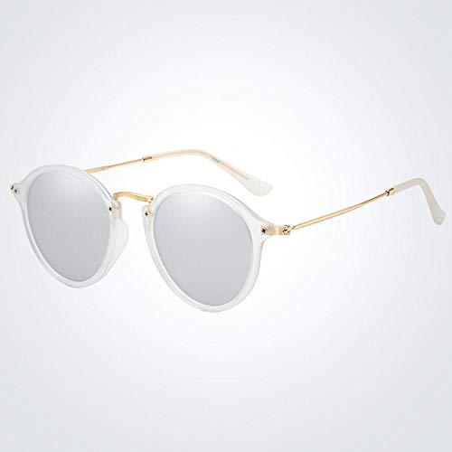 Gafas de Sol polarizadas de Marca clásicas para Hombres y Mujeres, Gafas De Sol Redondas para conducción, Gafas De Sol Uv400, Gafas De Sol 05