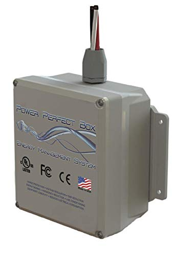 Satic Power Perfect Box - Whole Home Dirty Electricity Filter, Surge Protector and Cost Saver!