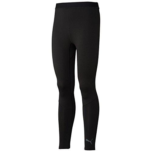 Puma Lite Mallas Largas Para Hombre, Otoño-Invierno, Hombre, Color Black/Asphalt/Graphic, Tamaño Medium
