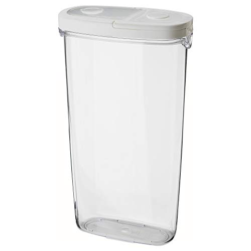 IKEA 900.667.08 Frischhaltedose 365+ mit Deckel, transparent, weiß