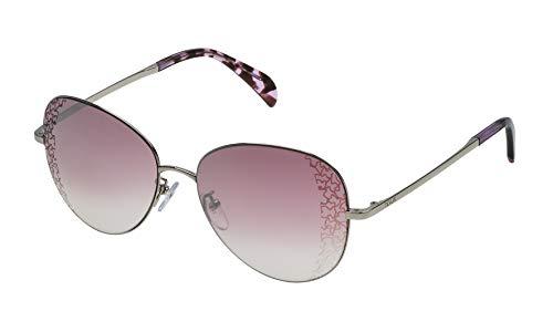 TOUS STO360-57579X Gafas, Gris, 57/16/140 para Mujer