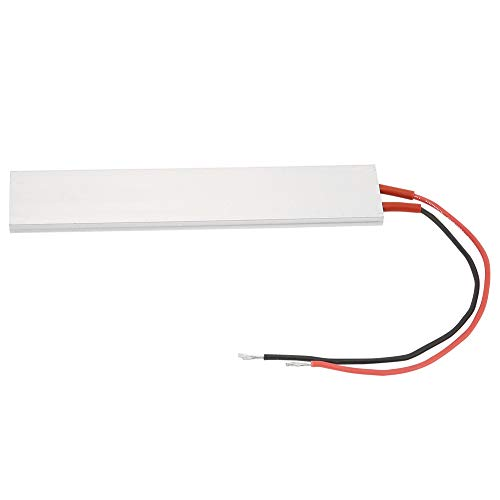 Placa calefactora-150 * 28,5 mm carcasa de aluminio PTC placa calefactora calentador termostático(24V 70℃)