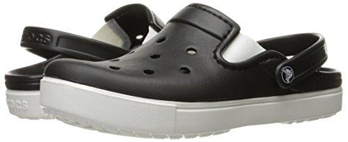 Crocs Citilane Clog, Unisex Clogs, Black (Black/White), M4/W5 UK (37-38 EU)