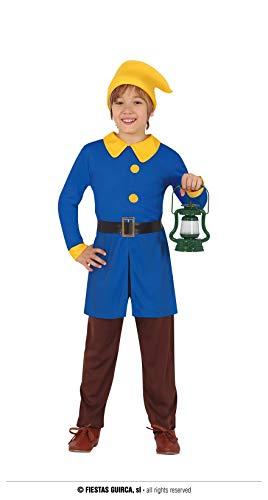 FIESTAS GUIRCA Disfraz de Enanito para niño de 10 a 12 años