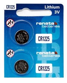 CR1225 Renata Batteries Watch Batteries 2Pcs