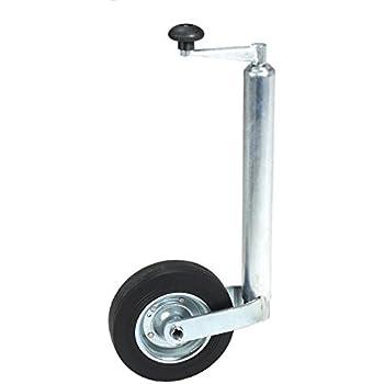 LMX449 leisure MART Rimorchio Caravan Jockey Wheel 200/mm in Acciaio di Ricambio Ruota PT No