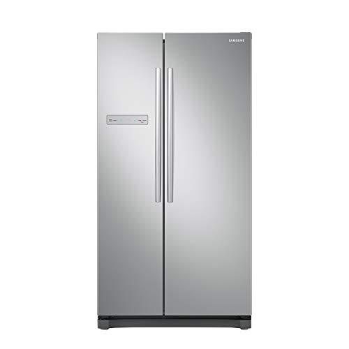 Samsung RS54N3003SA ES Figorifero Side By Side, Premium Silver [Classe di efficienza energetica A+]