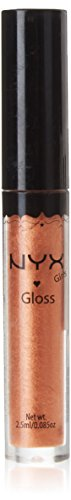 NYX Brillo Labial Redondo, Mousse de Chocolate - 2.5 ml