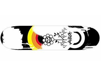 Angst Insomniaks La morte Skateboard Deck 7.5