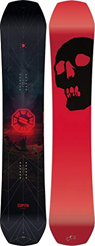 Capita Black Snowboard of Death 2020-162cm