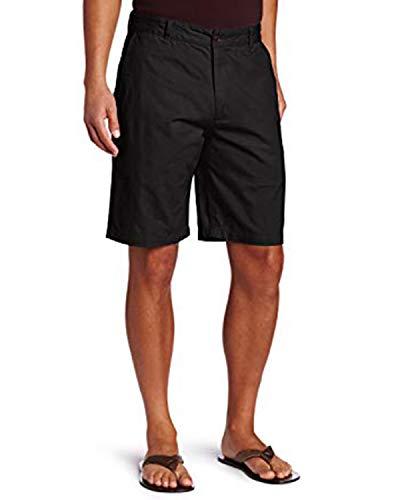 INCERUN Herren Sommer Bermuda Shorts Slim Fit Kurze Freizeithose Stretch Sporthose Schwarz01 L