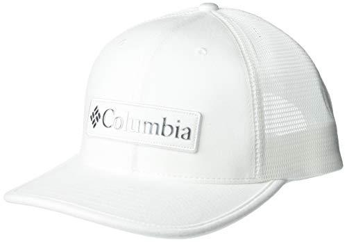 Columbia Unisex Snapback Hut, Tech Trail 110 , Weiß (White, Columbia Patch), Einheitsgröße, 1886761
