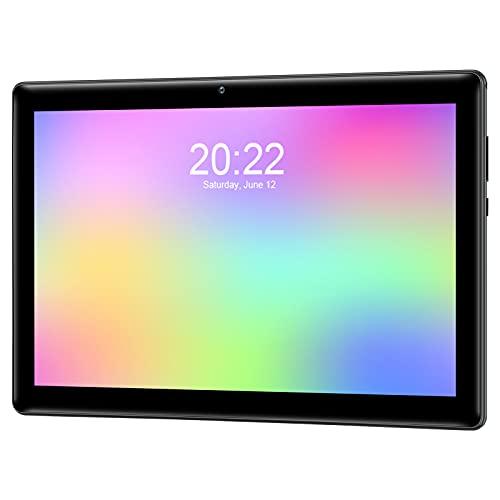 Qimaoo 4G LTE Tablet 10 Zoll Android 10.0, Octa Core, 2 GB RAM+32 GB ROM, Dual SIM/Kameras 2MP+8MP, WiFi/Type C/GPS/Bluetooth 4.0 Tablets
