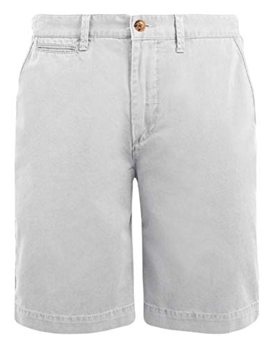 Polo Ralph Lauren Mens Logo Relaxed Fit Casual Shorts (36, Gray)