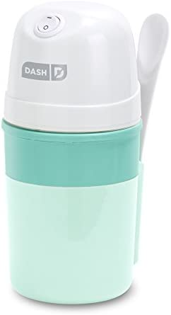 DASH My Pint Electric Ice Cream Maker Machine for Gelato Sorbet Frozen Yogurt with Mixing Spoon product image