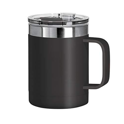 Oggi Thermal Travel Mug, 14 Ounce, Black