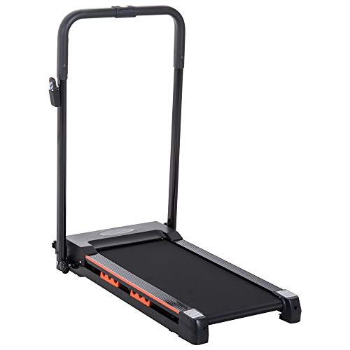 Homcom Laufband, elektrisch, faltbar, platzsparend, mit Fernbedienung, Leistung: 0,5 PS, 101 x 54 x 105 cm