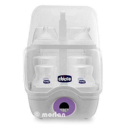 Chicco Esterilizador Digital Electrónico 6 Biberones Step Up, 1Ud