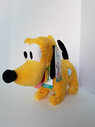 Disney Baby Pluto Animated Walking and Wags Tail Pet Includes Batteries