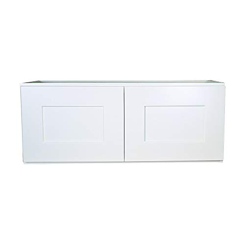 Design House Kitchen Cabinets-Wall, 30x12x12, White