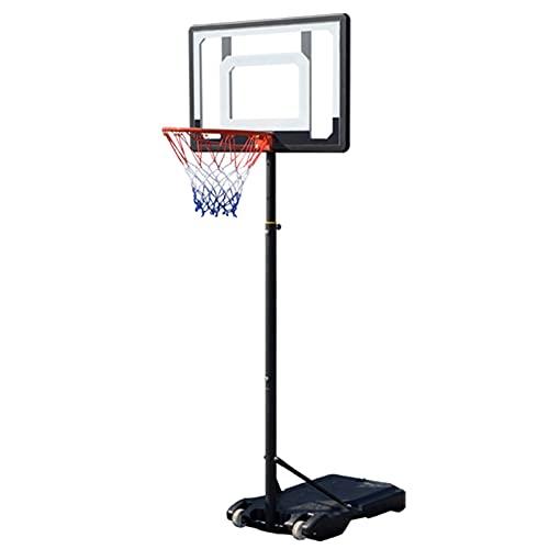 ZXQZ Aro y Tablero de Baloncesto Mini Fun, Productos de Baloncesto de Juguete, Soporte de Baloncesto Ajustable, para Juegos de Interior Al Aire Libre