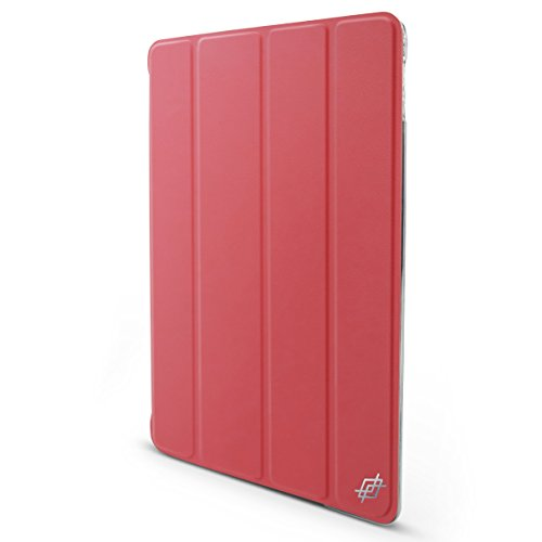 X-Doria Engage Folio Flip Cover Hard Shell Case for iPad Air 2 (Hot Pink)