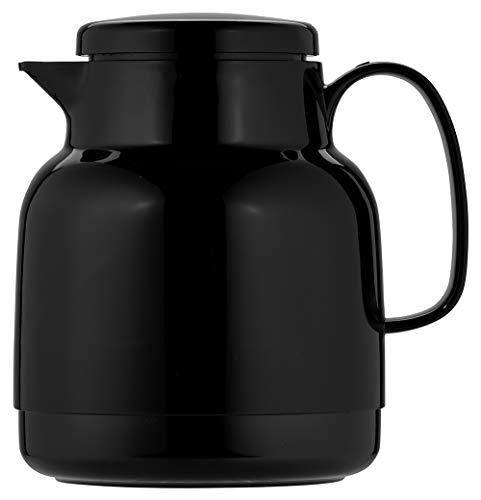 Helios Mondo Kunststoff-Isolierkanne, schwarz, 1 Liter