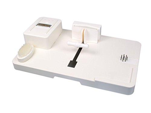 Multi-Küchenbrett   Food Workstation   Zubereitungshilfe   Fixierbrett, Schneidebrett, Reibe, Schäler und Brotschmierecke