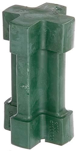 GAH-Alberts 211240 Einschlag-Werkzeug | für Einschlag-Bodenhülsen 90 x 90 mm, 100 x 100 mm und Ø100 mm | Kunststoff, grün