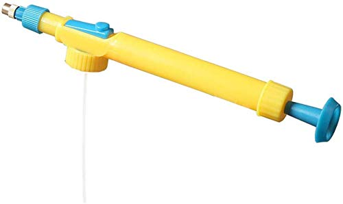 Mini Toy Sproeier Sap Fles Interface Trolley Sproeier Hoofd Druk Sproeier Watersproeier Hoofd Tuinieren benodigdheden Geel