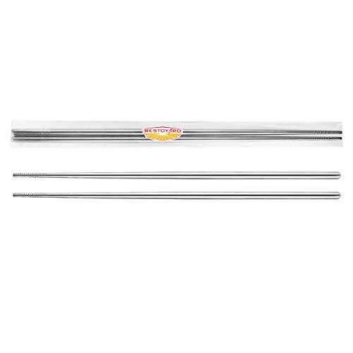 BESTOYARD菜箸ステンレス長い箸天ぷらころもはし揚げ物卵焼きラーメンそば料理用36cm