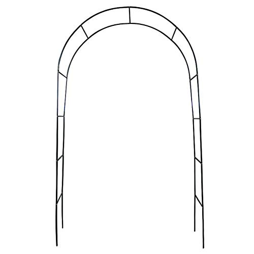 LILL Garden Arch Garden Arch Heavy Duty StrongHeavy Duty Strong Tubular Arbor For Roses Climbing Plants Support Archway garden Decoration