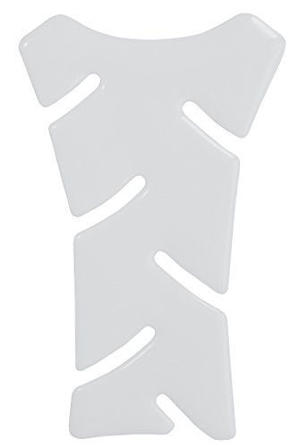 Mini-Tankpad 3D 501347 Weiß - universeller Tank-Schutz passend für Motorrad-Tanks