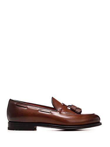 Santoni Luxury Fashion Homme MCCL17111RB2IOBRM52 Marron Cuir Mocassins | Printemps-été 20