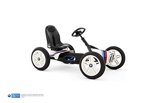 Berg Pedal Gokart Buddy BMW Street Racer | Kinderfahrzeug, Tretauto mit Optimale Sicherheid, Luftreifen und Freilauf, Kinderspielzeug geeignet für Kinder im Alter von 3-8 Jahren