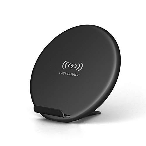 BANGSUN 1PCS Ultra-Thin Round Fast Charging Pad Plegable Dual Intelligent Identificación Cargador