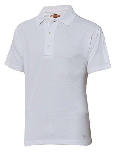 Tru-Spec Herren 24-7 Serie kurzärmeliges Poloshirt, weiß, XXL