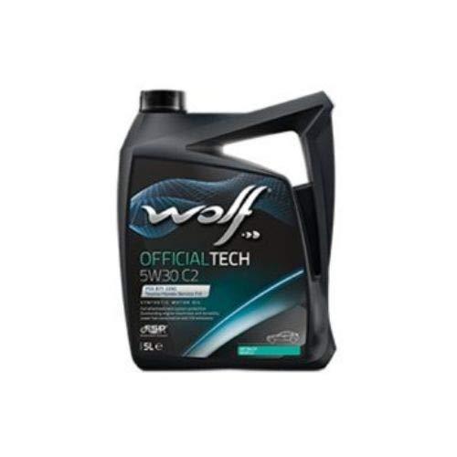 Wolf - Bidon 5 litres d'huile 5W30 OFFICIALTECH 5W30 C2-8309113