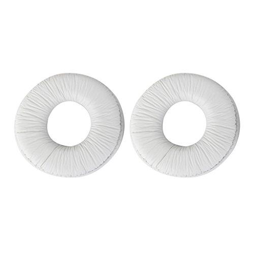Gazechimp Ersatzohrpolster Ohrpolster für Sony MDR ZX100 ZX300 Headset Kopfhörer Weiß