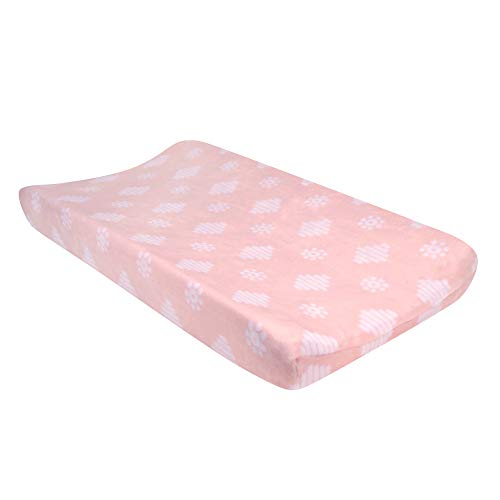 Lambs & Ivy Forever Friends Pink/White Changing Pad Cover
