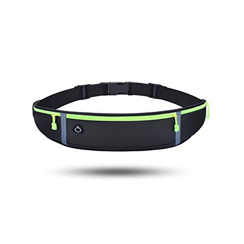 ランニングバッグは軽量、防水、揺れのないウエストバッグ、防水&防汗 速乾 ライカ製 夜間反射素材 イヤホンホール付き スポーツ 旅行 遠足 自転車用 登山用 iPhone/Android 6.5インチまでスマホに対応 レディーorメンズ兼用