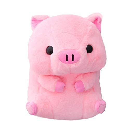 Liandan Bebé niña regalo peluche juguetes peluches de peluche de peluche juguetes para niños cumpleaños chrismas regalos-15.8 pulgadas redondo cerdo graso peluche juguete relleno lindo muñecas bebé ap