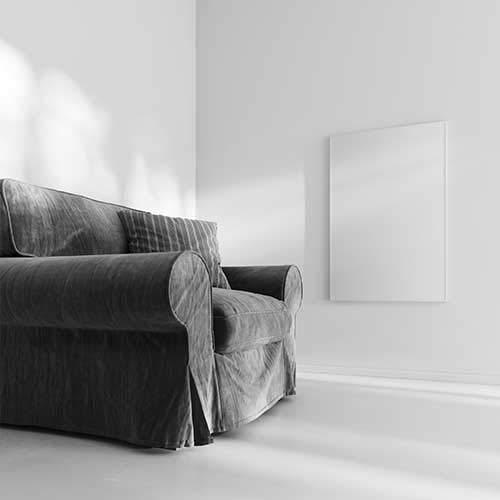 heatness Infrarotheizung, Riscaldamento a infrarossi da parete L, VCIR-600, da 600 W, colore: bianco