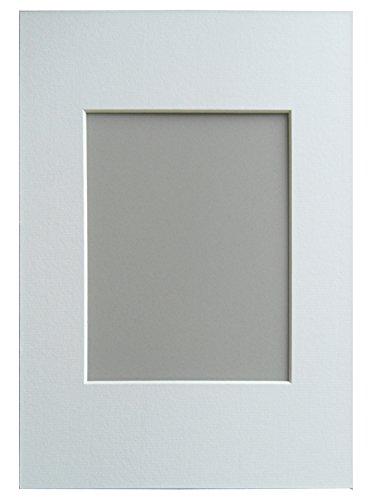 Walther Design PA825W marcos de fotos Paspartú, 18 x 24 cm, Formato de Imagen de 13 x 18 cm, Color Blanco