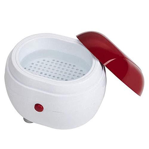 WZM Limpiadores Mini Joyería 2 Generaciones Limpiador Ultrasonidos Limpieza Dental Joyería Relojes Monedas Oro Plata Reloj Anillos Gafas Joyas Limpiador Dentaduras Máquina Cuidado
